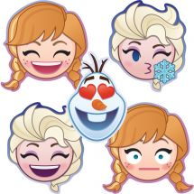 Disney Frozen Emoji Shaped Stickers
