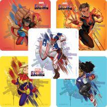 Marvel Rising: Secret Warriors Heroes Stickers