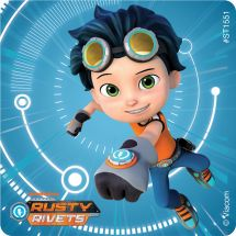 Rusty Rivets Stickers