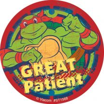 Teenage Mutant Ninja Turtles Great Patient Stickers
