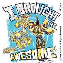 Transformers Bumble Bee Urban Pop Stickers