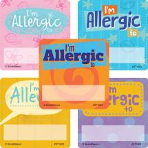 I'm Allergic Stickers