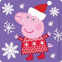 Peppa Pig Christmas Stickers