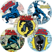 Black Panther Comic Stickers