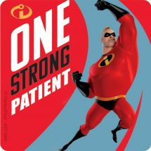 The Incredibles 2 Patient Stickers
