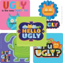 UglyDolls Rainbow Stripe Stickers