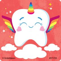 Toothicorn Stickers