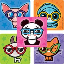 Vision Cuties Stickers