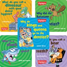 Highlights Dental Patient Stickers