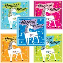 Magical Patient Unicorn Stickers