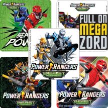 Power Rangers Beast Morphers Sticker