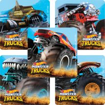 Hot Wheels Monster Trucks Stickers