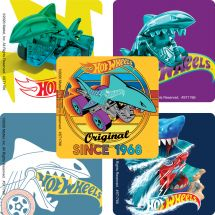 Hot Wheels Shark Bite Stickers