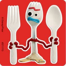 Toy Story 4 Forky Stickers