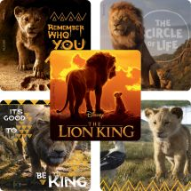 The Lion King Movie Stickers