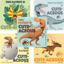 Jurassic World Patient Stickers