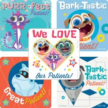 Puppy Dog Pals Patient Stickers