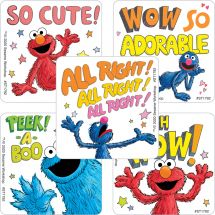 Sesame Street Monsters Stickers