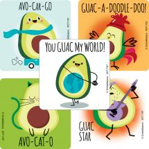 Avocado Pun Stickers