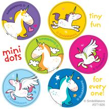 Unicorn Mini Dot Stickers