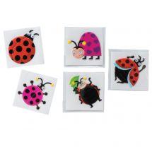 Ladybug Wiggle Eye Stickers
