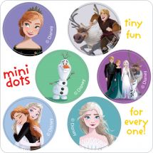 Frozen II Mini Dot Stickers