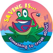Saving Is Something Stickers
