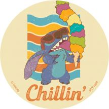 Stitch Aloha Stickers