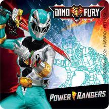 Power Rangers Dino Fury Stickers