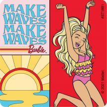 Barbie Malibu Stickers