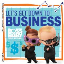 Boss Baby: Family Business Stickers