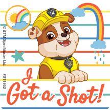 PAW Patrol I Got a Shot Stickers