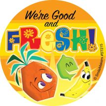 Fresh Fruit & Vegetable Stickers
