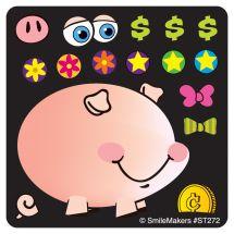 MYO PIGGY BANK STICKERS