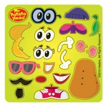 Make Your Own Spud Mr. Potato Head™ Stickers