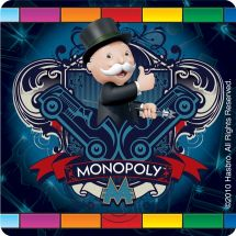 MONOPOLY BANK STICKERS