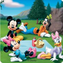 Mickey Mouse Great Outdoors Stickers