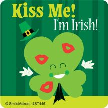 Cute St. Patricks' Day Stickers