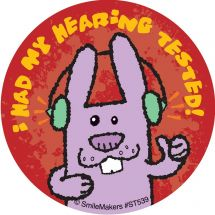 Animal Hearing Test Stickers