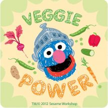 Sesame Street Healthy Habits Stickers