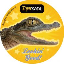 Animal Eye Exam Stickers