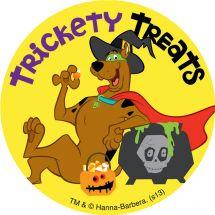 Halloween Scooby Doo Stickers