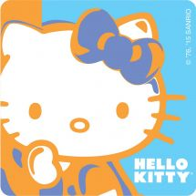 Hello Kitty Warhol Stickers