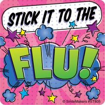 Stick it to the Flu Stickers