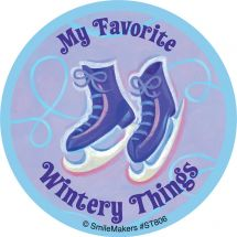 Favorite Wintery Things Stickers
