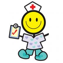 Make-Your-Own™ Medical Smiley Stickers