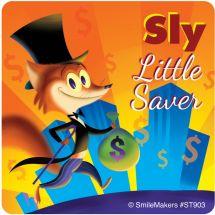 Foxy Little Saver Stickers