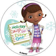 Doc McStuffins Christmas Stickers