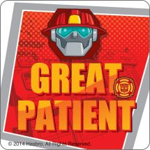 Transformers Rescue Bots Patient Stickers