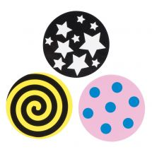 Occluding Patches: Spots, Stars, Swirls